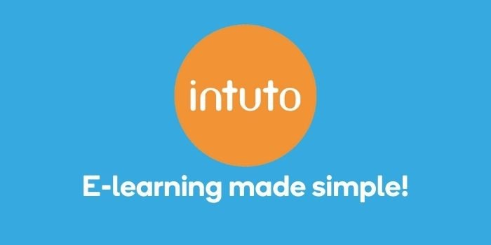 Intuto logo and e-learning made simple text